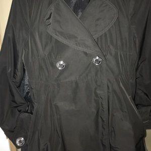 Jackets & Blazers - Black trench 🧥 coat